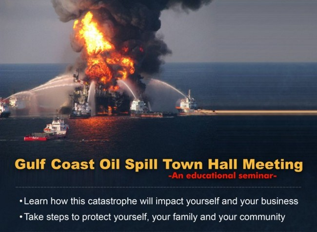Gulf Coast Oil Spill Town Hall Meeting