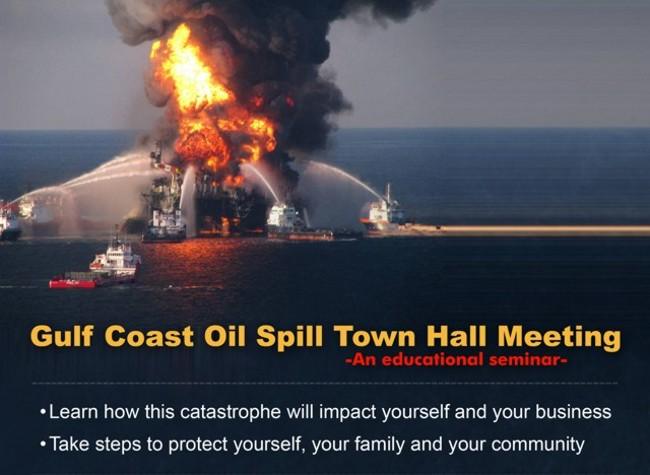 Gulf Coast Oil Spill Town Hall Meeting